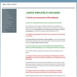 Charte simplifiée