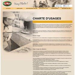 Charte d'usages médias sociaux - Del Arte