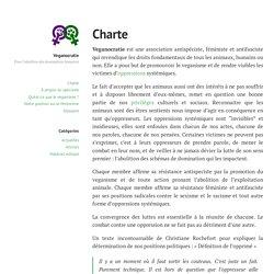 Charte - Veganocratie