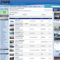 Charter angling/diving boats - FAFB