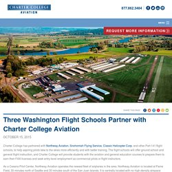 Flight School for aspiring pilots in USA