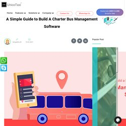 A Simple Guide to Build A Charter Bus Management Software