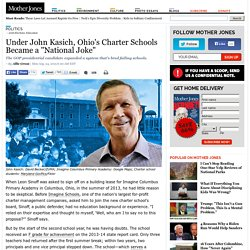 "Under John Kasich, Ohio's Charter Schools Became a ""National Joke"""