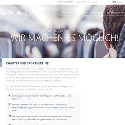 Full-Service-Charterflüge für Sportverein