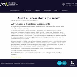 : Chartered Accountants