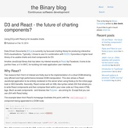 D3 and React - the future of charting components? - Binary Consulting
