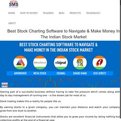 Best Stock Charting Software to Navigate & Make Money in The Indian Stock Market
