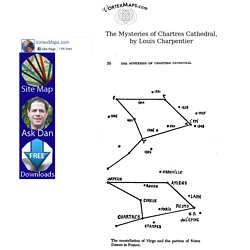 Chartres Cathedral, geometric and harmonic analysis. Mirrors the Constellation Virgo
