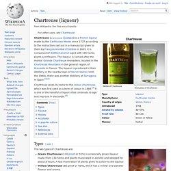 Chartreuse (liqueur)