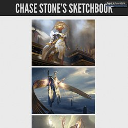 Chase Stone's Sketchbook!