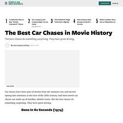 17 Best Car Chases in Movie History - Movie Driving Scenes
