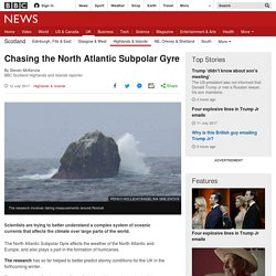 *****Ocean currents: Chasing the North Atlantic Subpolar Gyre (autosubs / gliders)