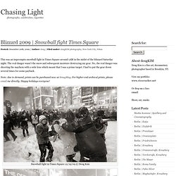 Snowball fight Times Square « Chasing Light