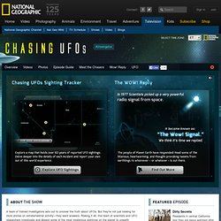 Chasing UFOs - National Geographic Channel - Waterfox