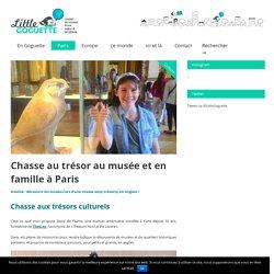 Chasse au trésor en famille à Paris