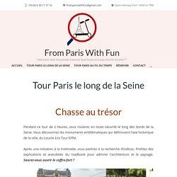 Chasse au trésor - Paris le long de la Seine en trottinette