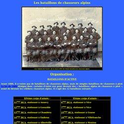 Les bataillons de chasseurs alpins