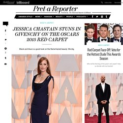 Jessica Chastain's Oscars 2015 Red Carpet Dress