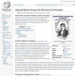 Armand Marie Jacques de Chastenet de Puységur