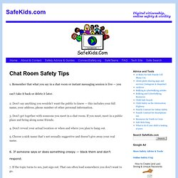 Gay chat rooms for kids directly responsible ga for Kids chat rooms