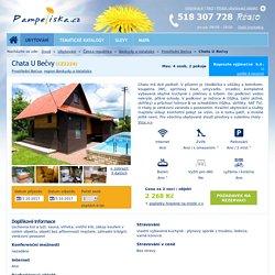 Chata U Bečvy - Ubytování Prostřední Bečva
