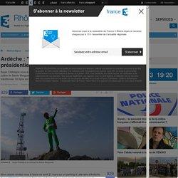 """Ardèche : """"Super Châtaigne"""", candidat à la présidentielle, nous a donné rendez-vous... - France 3 Rhône-Alpes"""