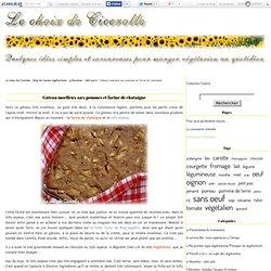 Gâteau moelleux aux pommes et farine de chataîgne - Le choix de Cicerolle - Blog de cuisine végétarienne