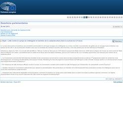 PARLEMENT EUROPEEN - Réponse à question E-006095-13 Lutte contre le cynips du châtaignier et maintien de la castanéiculture dans le sud-est de la France