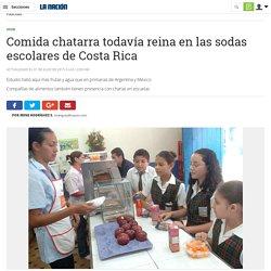 Comida chatarra todavía reina en las sodas escolares de Costa Rica