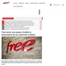 Free lance son propre chatbot à destination de ses abonnés mobiles