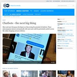 Chatbots - the next big thing