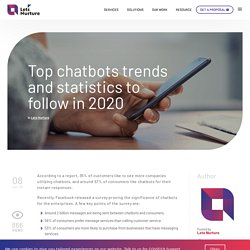 Top chatbots trends and statistics to follow in 2020