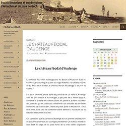 Le château féodal d'Audenge