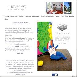 le château de Bosc devient le plus grand espace d'art contemporain de France. - Art Bosc, Galerie et Parc du Château de Bosc