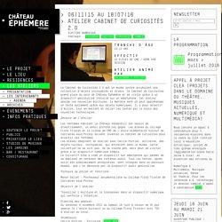 Atelier Cabinet De Curiosités 2.0