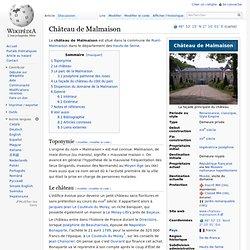 Château de Malmaison wikipedia
