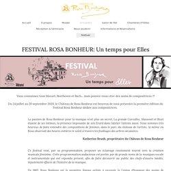 Château de Rosa Bonheur - Festival