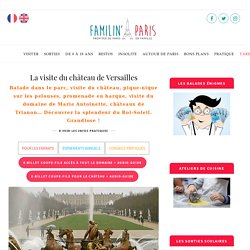 Château de Versailles : pour tous, petits et grands - E-billet et conseils