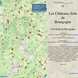 Châteaux-forts de Bourgogne