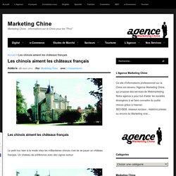 Les chinois aiment les châteaux français - Marketing Chine
