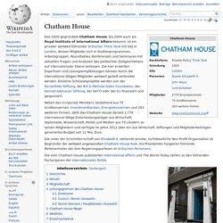 Chatham House