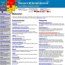 Darren's Script Archive - chatrooms, image galleries, applets, advanced php/mysql systems