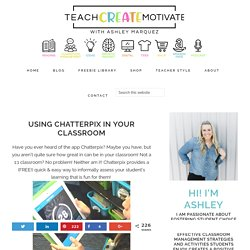 Using Chatterpix in Your Classroom - Teach Create Motivate