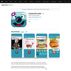 ChatterPix Kids on the AppStore