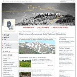 Réserve naturelle nationale de la Vallée de Chaudefour - Réserves naturelles
