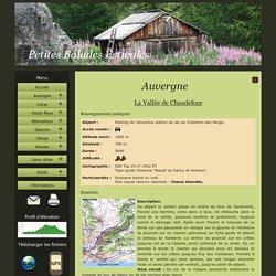 La Vallée de Chaudefour, Randonnée, Auvergne, Puy-de-Dôme, fichier gpx, fichier kml