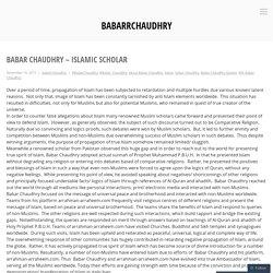 Babar Chaudhry – Islamic Scholar