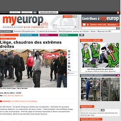 Liège, chaudron des extrêmes droites