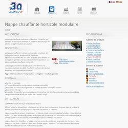 Nappe chauffante horticole modulaire