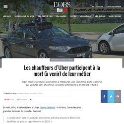 Les chauffeurs d'Uber participent à la mort (à venir) de leur métier